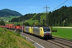 In ripresa: il traffico merci transalpino su rotaia si riprende gradualmente dopo la crisi economica.