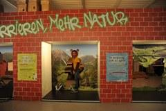 Un muro attraversabile fornisce informazioni sulla messa in rete degli habitat.