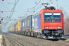 Entro il 2030 l'UE vuole trasferire su nave e ferrovia il 30% del trasporto merci per le tratte superiori a 300 km.
