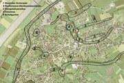 Luftbild Flurgehölz. Die gesamte Grünraumplanung der Gemeinde Mäder wird evaluiert.