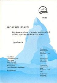 CIPRA Kleine Schriften 12/95 Trendsportarten italienisch