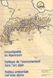 cipra tagungsband 1988 umweltpolitik