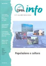 CIPRA Info 71 italienisch