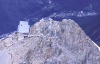 Gorska postaja na Mont Blancu