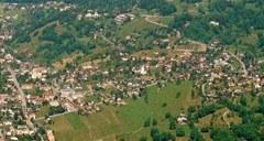 Luftaufnahme von Triesen
