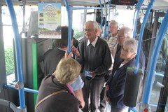 Vožnja z regiobusom je bila 20. junija v celotni mreži Heriasua brezplačna.