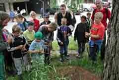 Osnovnošolci na izletu v dolini Grosses Walsertal