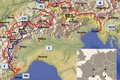 Peš preko Alp: Via Alpina povezuje vseh osem alpskih držav in obalo Jadranskega morja z Monaškim zalivom.