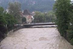 Posledice podnebnih sprememb: pogostejše in močnejše poplave v Alpah