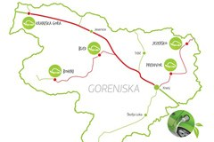 Na poti k trajnostni mobilnosti - mreža petih novih električnih polnilnic na Gorenjskem.