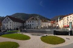 Idrija/Slovenija - alpsko mesto leta 2011