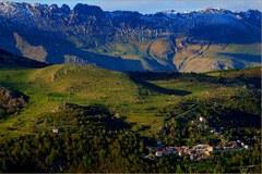 Ormea/I v Piemontu - občina, ki šteje 1700 prebivalcev, je ena od krajev vzdolž rdeče poti.
