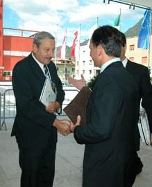 Podpis sporazuma: uradni začetek delovanja sekretariata Alpske konvencije v Bolzanu