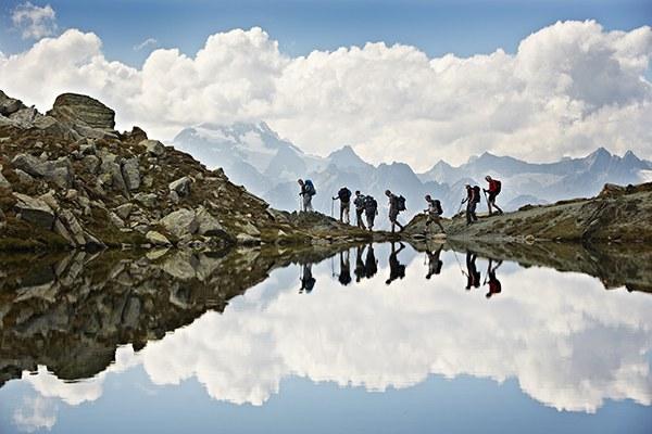 Peš po sledeh sprememb v Alpah © Zeitenspiegel Heinz Zeiss