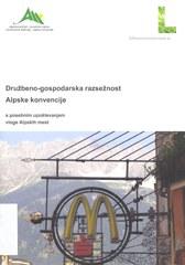 Sozioökonomische Dimension der Alpenkonvention - slowenisch