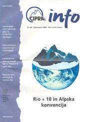 CIPRA Info 66 slowenisch