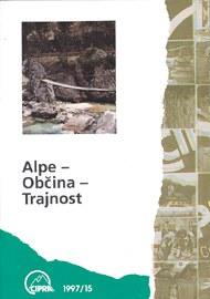 cipra tagungsband 1997 Alpen - Gemeinde - Nachhaltigkeit slowenisch