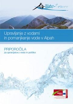 Upravljanje z vodami in pomanjkanje vode v Alpah