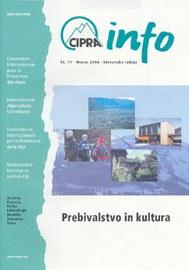 CIPRA Info 71 slowenisch