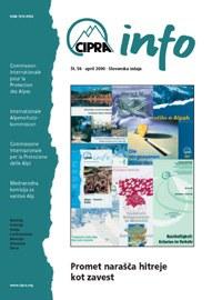 CIPRA Info 56 slowenisch