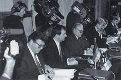 Alpenkonvention Unterzeichnung